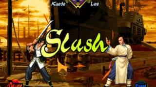 The Last Blade (Arcade/Neo Geo MVS) Playthrough as Kaede