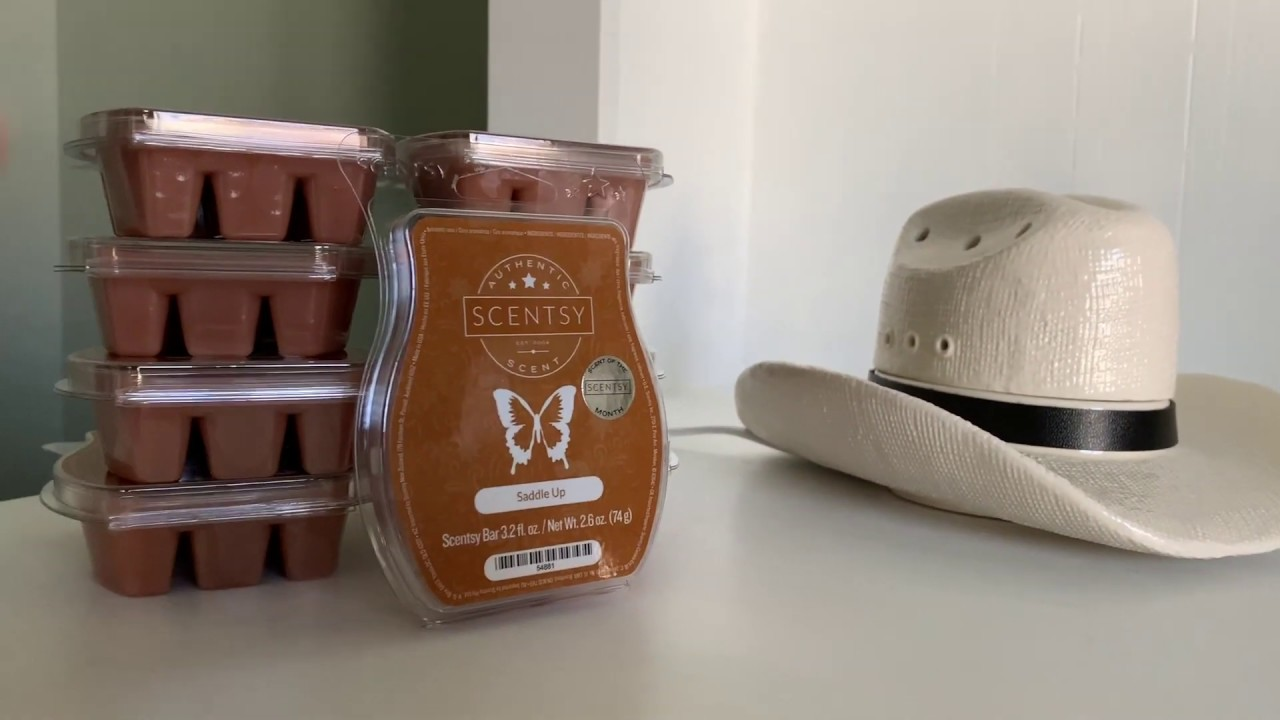 0c7d950c306d1 Scentsy Warmer Country Born and Saddle up Scent - YouTube