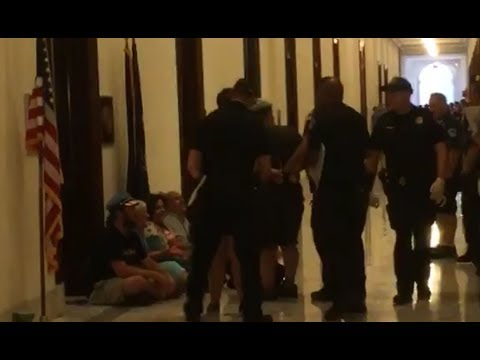 Capital Hill Police Arrest Protesters