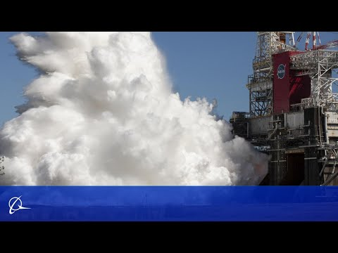 499.6 seconds: NASA and Boeing Complete Hot Fire-2 for Space Launch System Core Stage