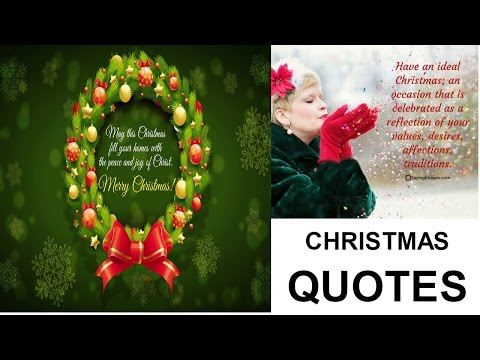 CHRISTMAS QUOTES ||