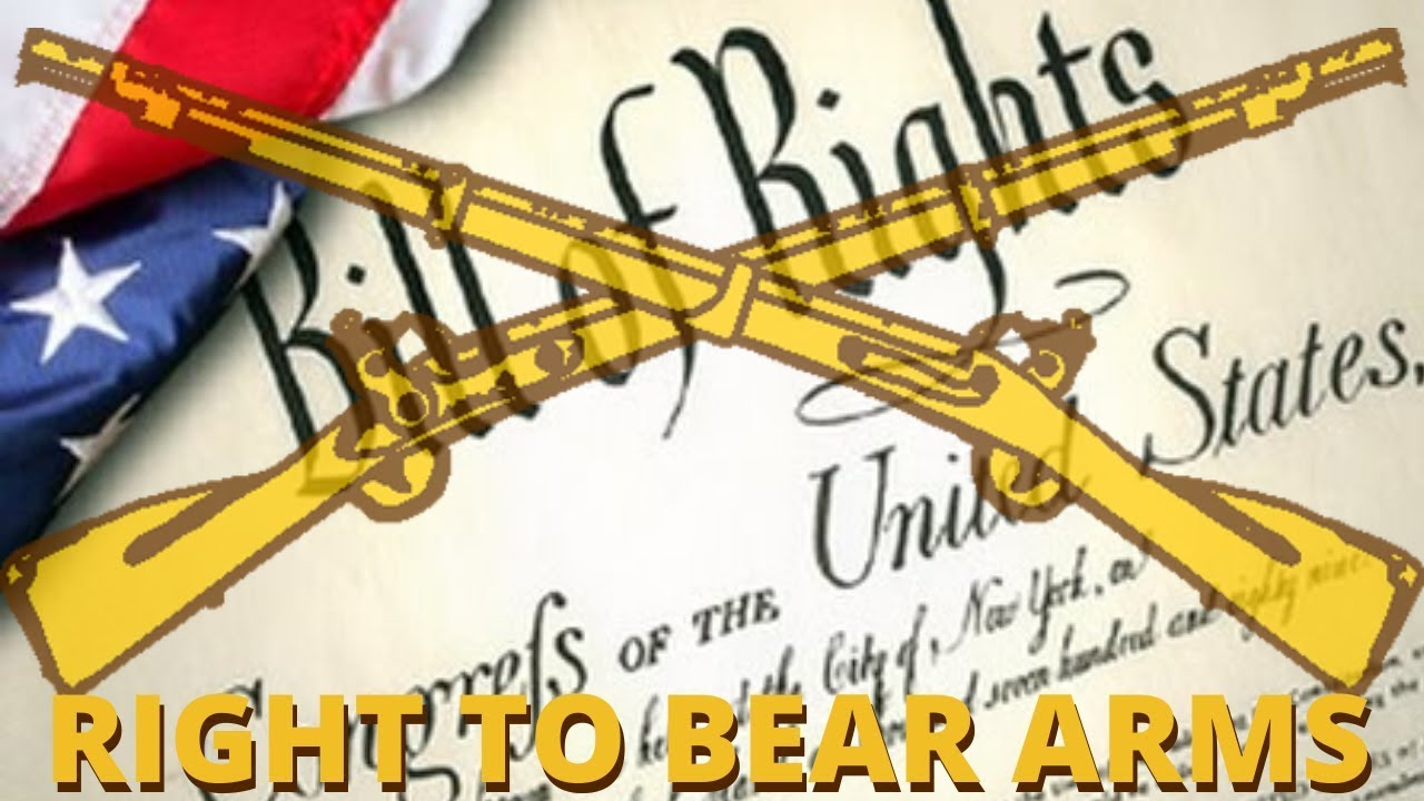 The Right to Bear Arms . . .