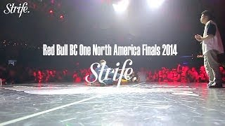Fleau vs Icey Ives | Red Bull BC ONE North America 2014 | StrifeTV