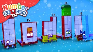 Numberblocks - Tales Before Christmas | Learn to Count