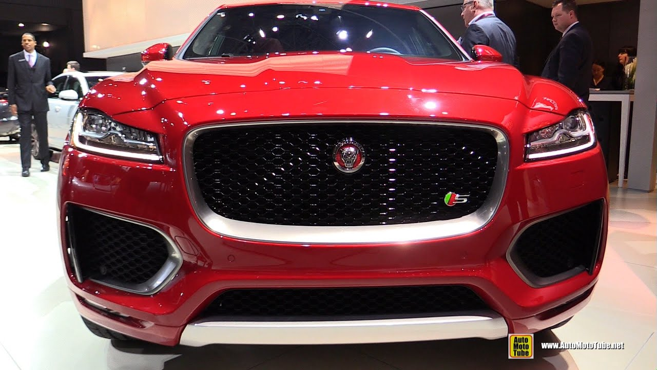 2016 Jaguar F Pace S Awd Exterior And Interior Walkaround 2016 New York Auto Show Youtube