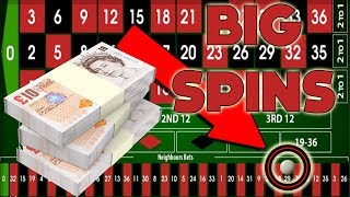 High Stakes Bookies Roulette with £30 Centurion Spins!
