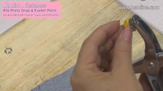 Press Snap & Eyelet Pliers