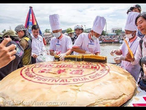 Tân Huê Viên - Giới thiệu Bánh Pía kỷ lục Việt Nam 2013