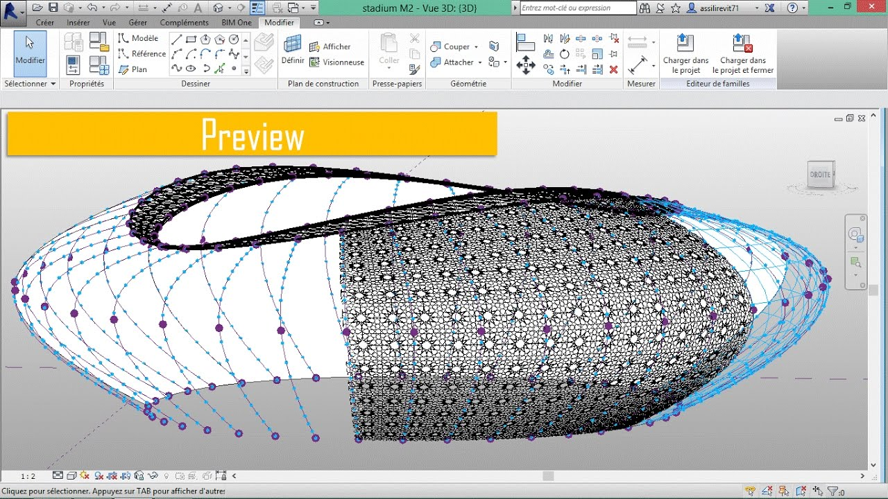 Parametric Stadium with an adaptive oriental pattern -PREVIEW-