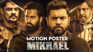 MIKHAEL (2019) Motion Poster | Nivin Pauly,Unni Mukundan,Manjima Mohan | New South Movie 2019