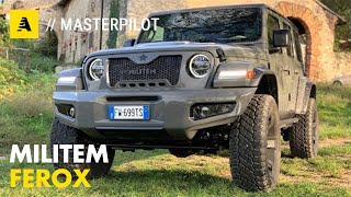 Militem FEROX | La Jeep Wrangler JL personalizzata al top!
