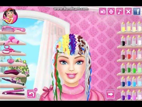 Barbie Gerçek Saç Kesimi Nasıl Oynanmaz ?