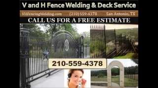 Custom Fence Company San Antonio | 210-559-4378 | Fence Gates, Ornamental Iron, Wood
