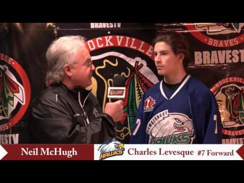 CCHL Interview Charles Levesque