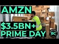 AMAZON PRIME DAY $3.5BN? - SP500, NASDAQ, DOW, AMZN, STOCK MARKET LIVE, STOCK MARKET NEWS
