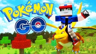 ♪Pokemon GO Song♪ - A Minecraft Parody Song - Music Video Animation