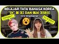 TATA BAHASA KOREA: DI 에 & 에서  Borassaem