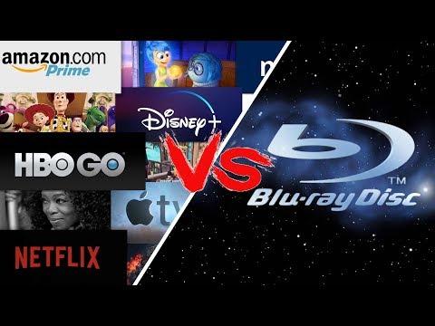 STREAMING VS BLU-RAY - AINDA VALE A PENA COMPRAR FILMES?