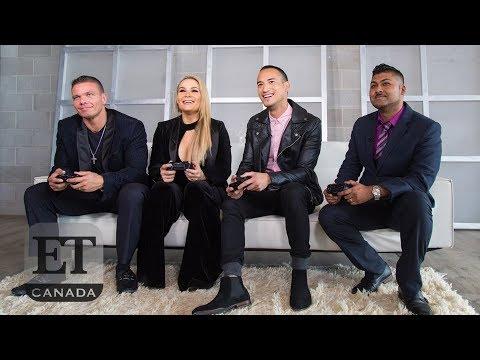 Natalya Neidhart, TJ Wilson Play WWE2K19   THE TITLE SHOT