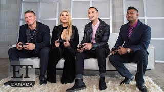 Natalya Neidhart, TJ Wilson Play WWE2K19 | THE TITLE SHOT
