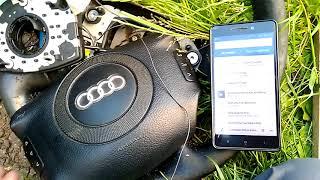Audi Мультируль Bluetooth Управление телефоном с руля