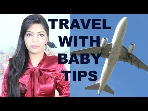 How To Plan Travel With a Baby Toddler | Airplane Travel Essentials | SuperPrincessjo