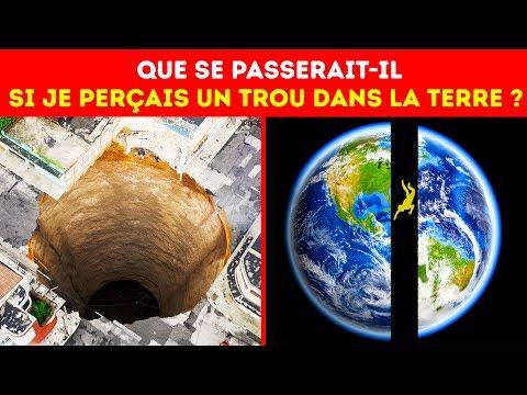 Et si Tu Perçais un Trou Dans la Terre et Que tu Sautais Dedans ?