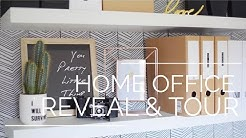Home Office Tour | Room Transformation Reveal | Ikea Home Office