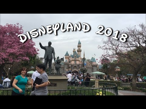 DISNEYLAND | CALIFORNIA ADVENTURE | FT DREAMS COME TRUE FIREWORKS | TRAVEL DIARY 2018