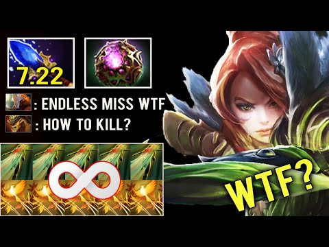 OMG IS THIS DOTA 2? Endless Windrun + Shackle Max Speed Run Build Trolling 7.22 Scepter Dota 2