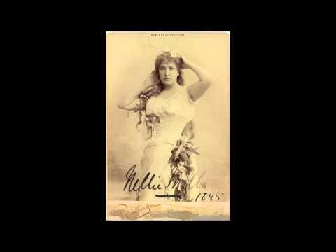 Charpentier - Louise - Depuis le jour - Nellie Melba (1913)