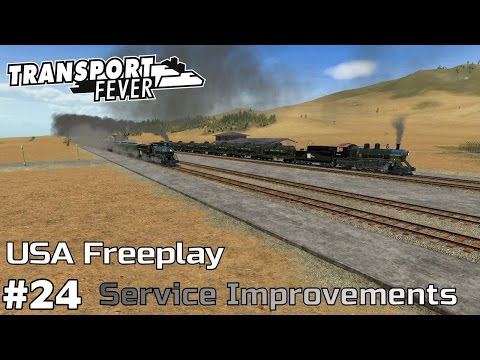 Network-wide Service Improvements [1925-27] - Transport Fever [USA Freeplay] [ep24]