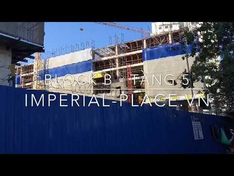 Cập nhật tiến độ tháng 1/2019 dự án Imperial Place Bình Tân