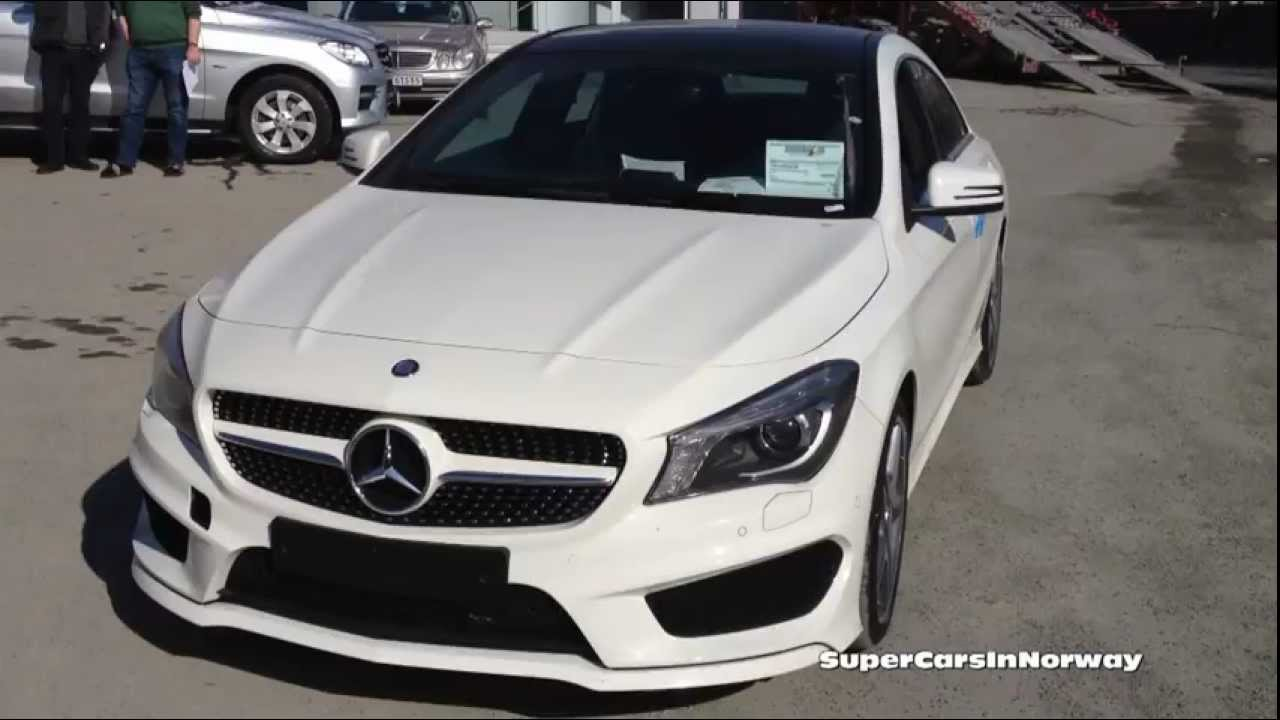 2x new mercedes cla 200 amg details - youtube
