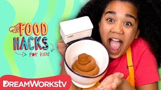 Edible Poop Cookie and Other Gross Food Pranks | FOOD HACKS FOR KIDS