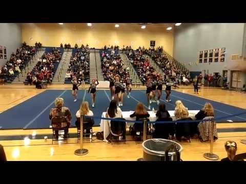 John Handley High School 4A North Cheer 2014