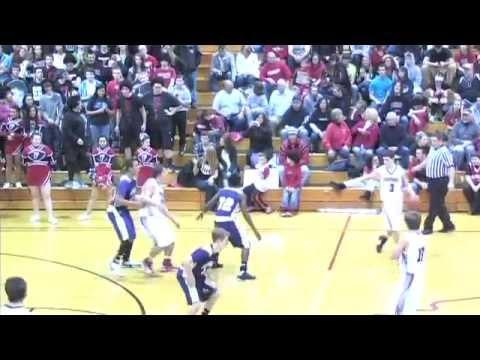 Angola Hornets at Fremont Eagles 2/02/13 Indiana Boys High School Basketball