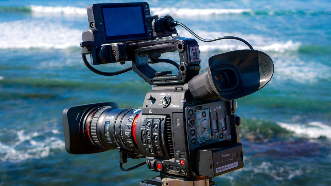 A Day in San Diego, shot on the Canon C200 & CN-E 70-200mm T4 4 Compact  Servo Lens