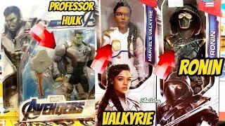 Avengers 4: Endgame - Leaked Professor Hulk, Valkyrie & Ronin Costumes & Toys - 2019