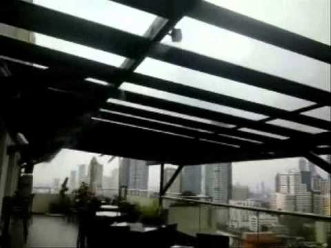 High Pressure Misting System - Philippines (Roof top Resto Bar)