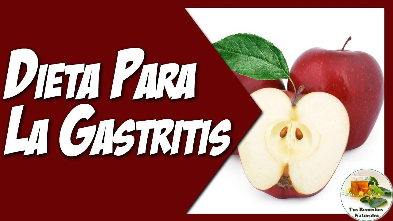 comidas que ayudan a curar la gastritis