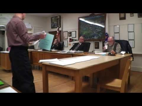 Warren Board of Selectmen: 2014-02-25.  Citizen Exposes Town Counsel Wild Spending; Public Records