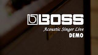 BOSS Acoustic Singer Live 木吉他舞台音箱【敦煌樂器】