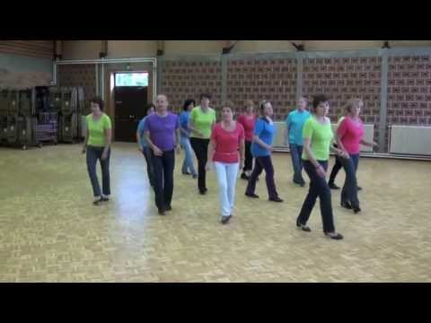 ONE WOMAN MAN - Country line dance