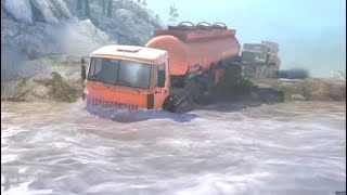 MUDRUNNER Spintires PS4 Offroad Challenge and Truck Rescue