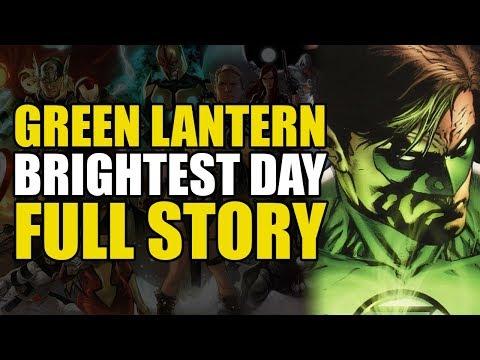 Green Lantern Brightest Day: Full Story