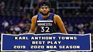 Karl Anthony Towns KAT Best Play 2019 - 2020 NBA season