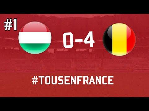 HONGARIJE - BELGIË (0-4) | EURO 2016 - TOUSENFRANCE #1