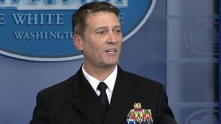 """White House doctor says Trump is """"very healthy"""""""