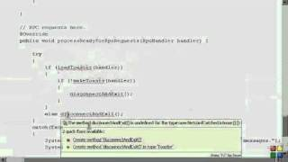 Netconf4Android Quickstart Step 6 Video 1